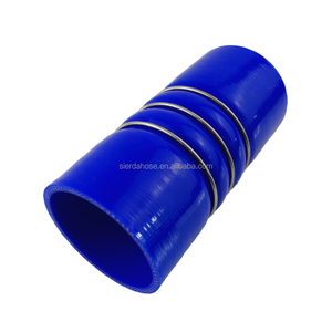 "Professional various sizes continuous multi-function 3"" Id Bellow Silicone Hose manufacturer supply"
