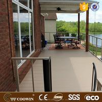 Anti-slip Outdoor WPC Decking Wood-Plastic Composite Flooring