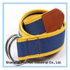 Eco-friendly Customized jacquard webbing belt with D-ring Buckle