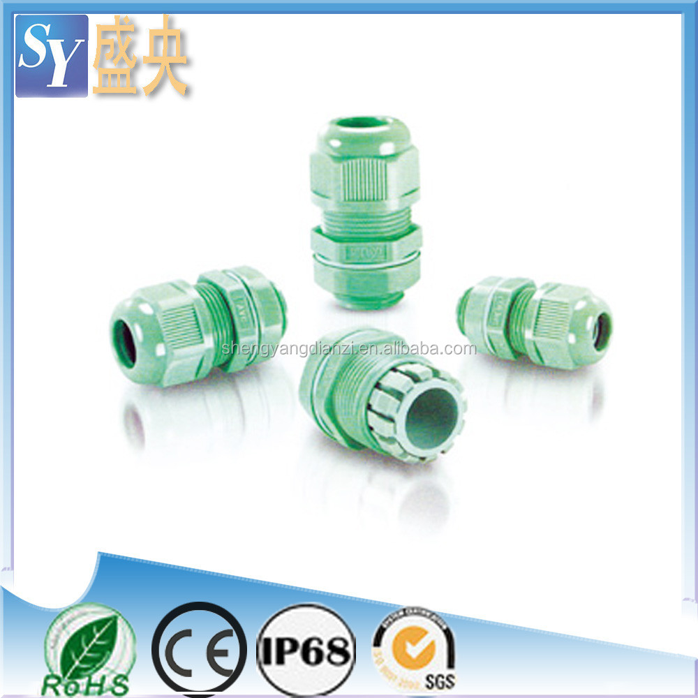 SY Cable Gland Size M12 High Temperature Resistance With Viton Rubber