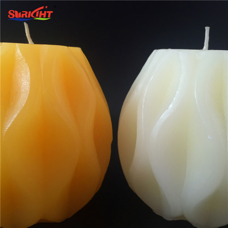 Hand Engraved Ball Globe Pineapple Shape Candles with 3% Nature Perfume