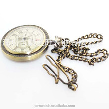 2015 new popular classical pocket watch,antique style pocket watch from China watch factory