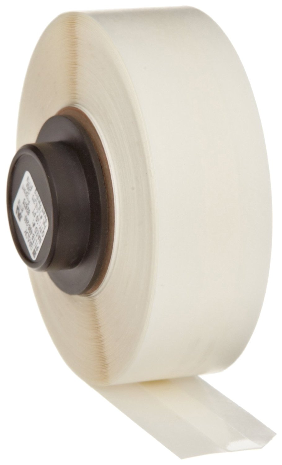 "Brady PTLTB-498-240 TLS 2200 And TLS PC Link 30' Height, 0.24"" Width, B-498 Repositionable Vinyl Cloth, White Color Terminal Block Marker"