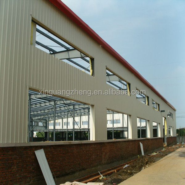 modern factory used steel structure warehouse drawing