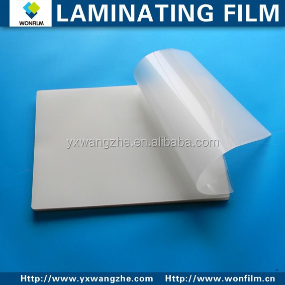 PET+EVA A3/A4/A5 Transparent hot Laminating Pouch <strong>Film</strong> 80mic/100mic/125mic