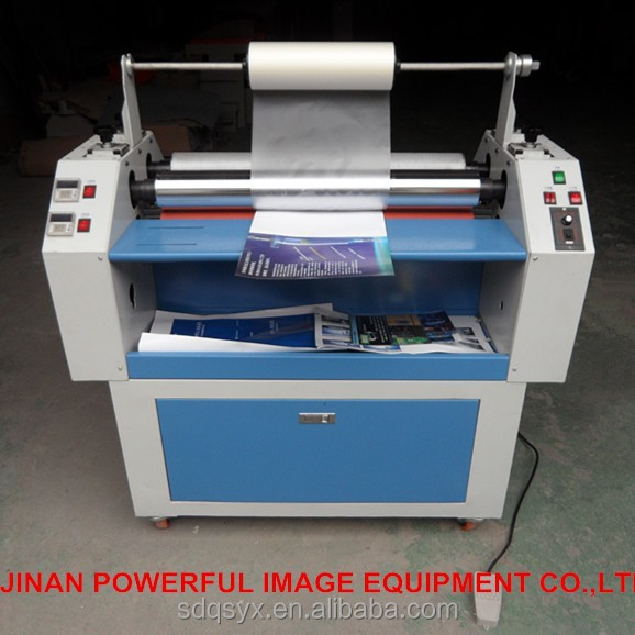 Digital hot texture laminator/lamination machine for paper