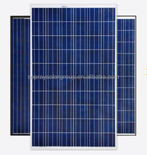 Sopray Solar Hot Seller High Efficiency A Grade Poly 250W 255W 260W 270w Solar Panel and Batteries with Inmetro Certification
