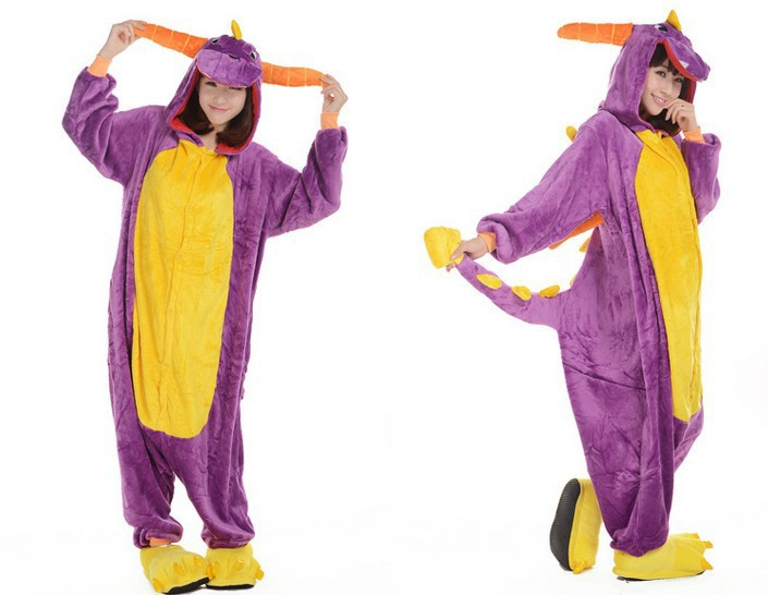 Get Quotations · Cheap 2015 Fashion Adult Pajamas Cosplay Costume Japan Anime Purple Spyro Dragon Cute Flannel Animal Onesie  sc 1 st  Alibaba & Cheap Spyro Costume find Spyro Costume deals on line at Alibaba.com