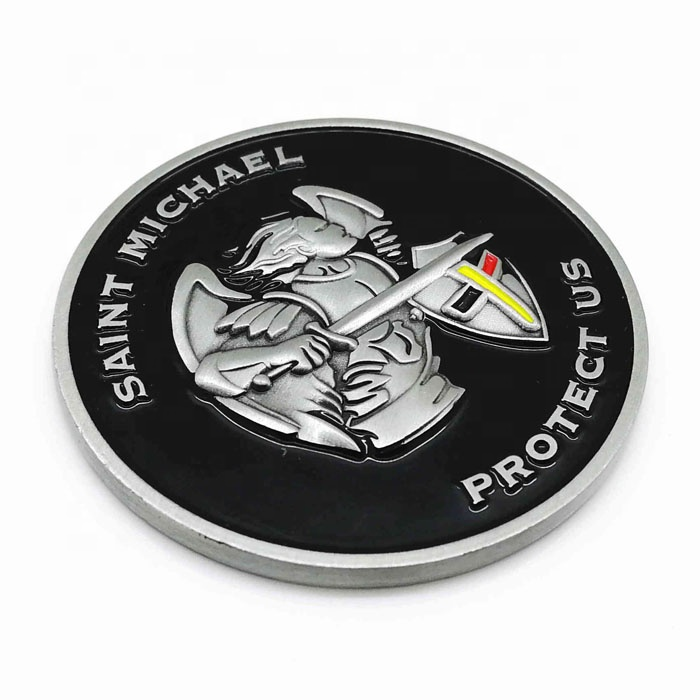 Custom made souvenir metal game challenge coin