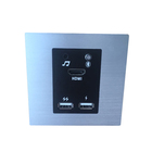 Electrical wall socket desktop socket / 5 star hotel wall mounted media hub with Blue tooth