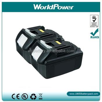 makita battery replacement 18v 4ah for makita power tool. Black Bedroom Furniture Sets. Home Design Ideas