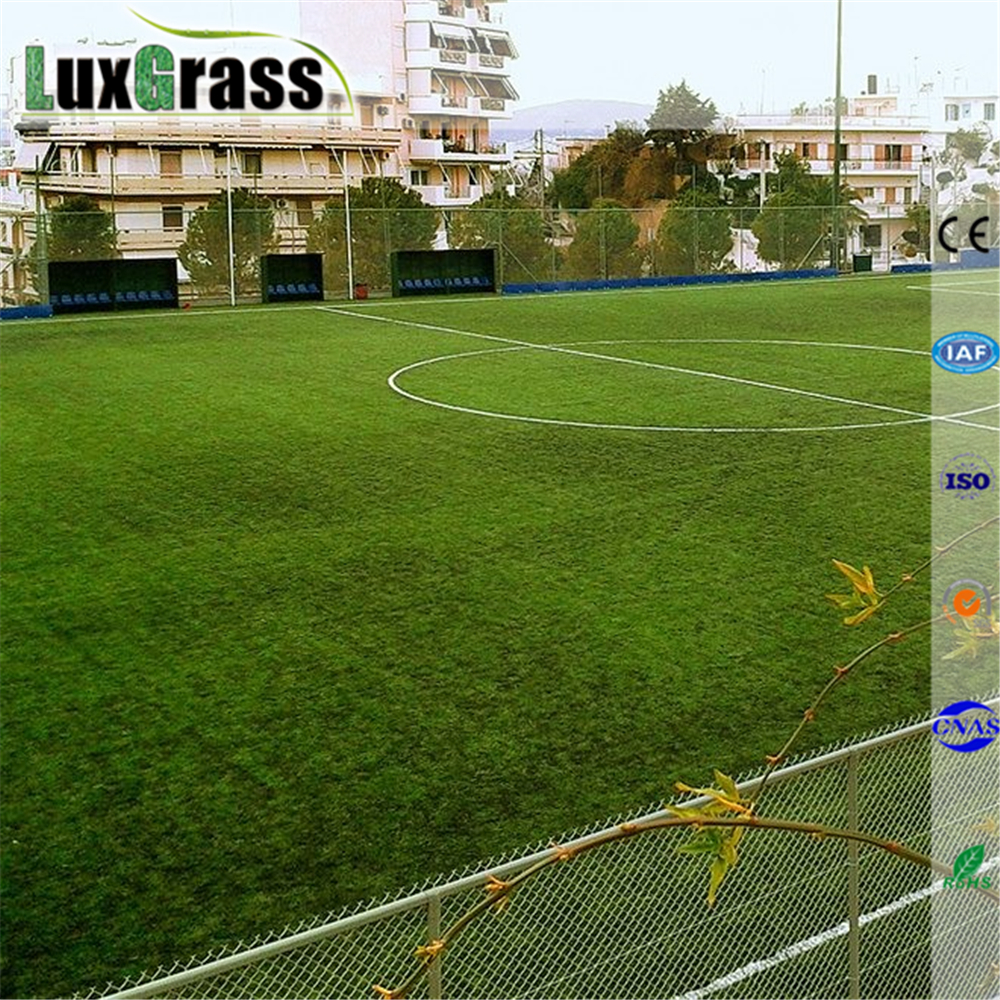 High Rebound Resilience Football Artificial Grass Outdoor Green Football Field Artificial Grass Pitches