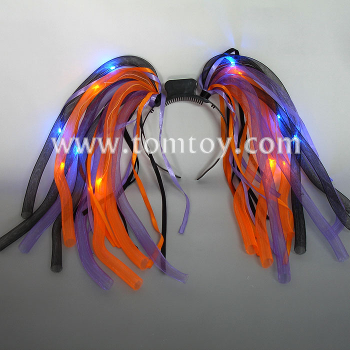 Halloween LED Light up Noodle Headband
