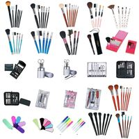Cheap Personalised Design Colorful Brush Sets Makeup Professional