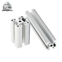 High quality standard sizes t slot aluminum extrusion