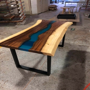 Fire Resistant Epoxy Resin Pine Wood Table - Buy Fire Resistant Epoxy Resin  Pine Wood Table,Non Toxic Epoxy Resin Tv,Epoxy Resin Sheet Office Table
