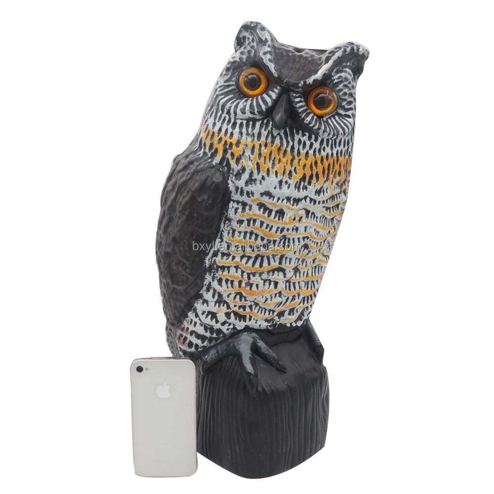 hibou ext rieure jardin statues r pulsif pour oiseaux lutte antiparasitaire id de produit. Black Bedroom Furniture Sets. Home Design Ideas