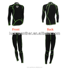 Men Sports wear Muscle Support Compression Suit, Long Sleeve Compression Suit wholesale sport swear
