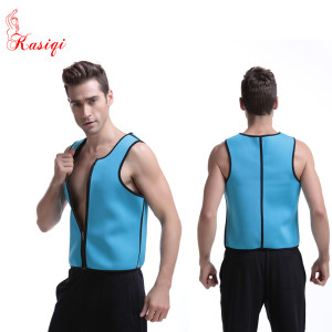 2016 Wholesale Men Weight Loss Vest Bodysuit Shaper Neoprene Corset