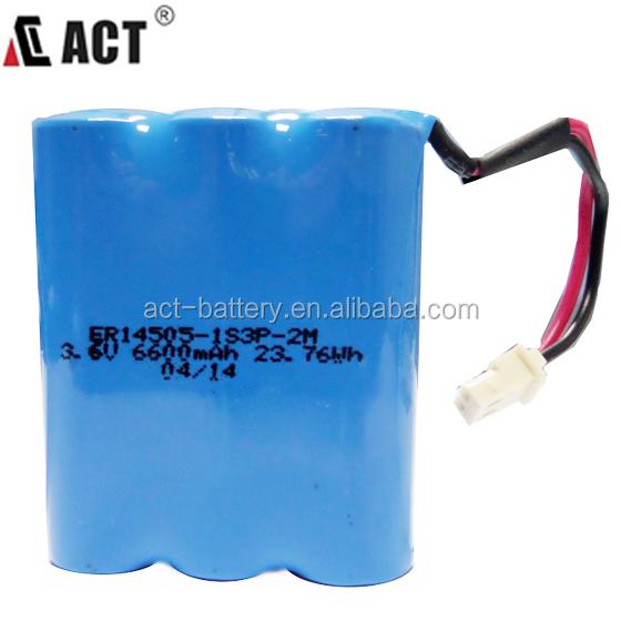 Act 2 7ah Aa 7 2v Er14505 Lithium Battery Pack Buy 7 2v