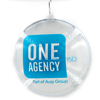 High quality clear plastic ball christmas tree decoration