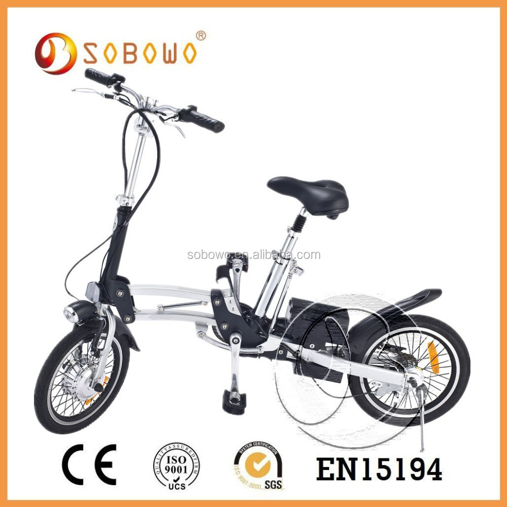 250w 16inch comfortable folding electric bike