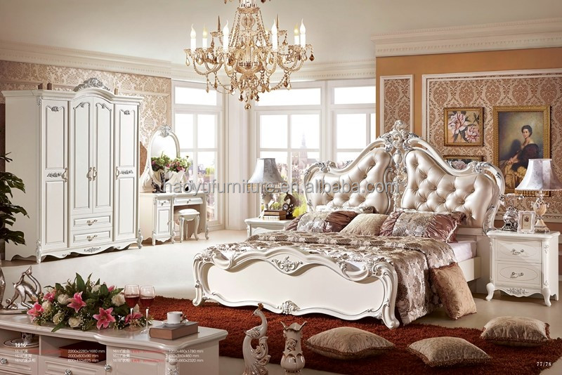 antiken luxus europ ischen barock bett franz sisch stil 1616 schlafzimmer set produkt id. Black Bedroom Furniture Sets. Home Design Ideas