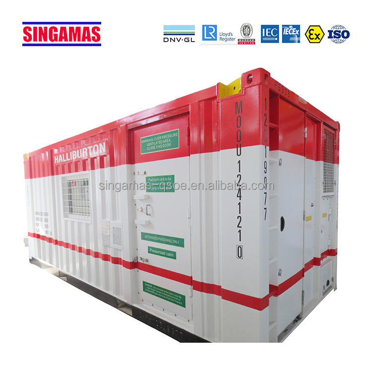 DNV certified 20' house container/office/workshop/lab offshore unit