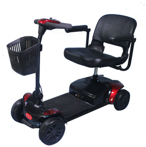 Four Wheels Electric Single Seat Mobility Scooter For Elder And Disable People