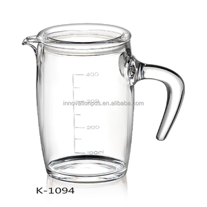 Wholesale Clear Acrylic Water Bottle Plastic Mason Glass Jar With Handles Lids