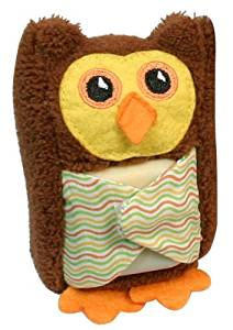 Stephan Baby Boo-Hoo Owl Comfort Toy and Boo Cube, Yellow by Stephan Baby