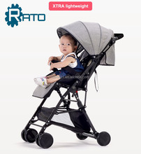 OEM Cheap Lightweight Foldable Multifunctional 3 in 1 Baby Stroller Pram
