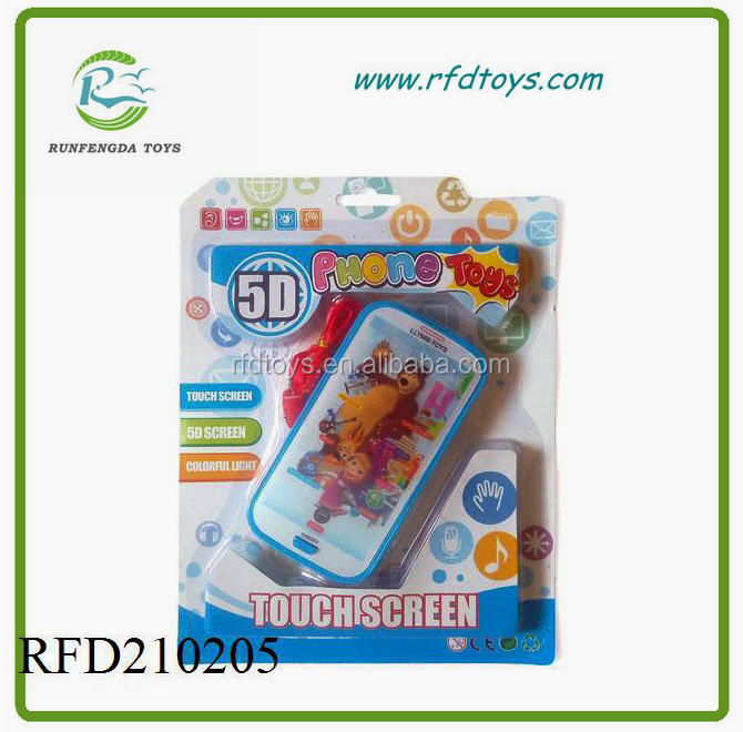 Baby Kids Learning Study Music Mobile Phone Touch Screen Child Educational Toys