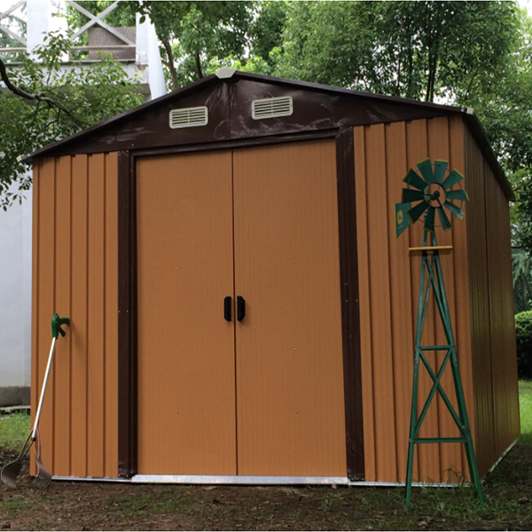 good price metal garden sheds high quality garden house easy assembly popular pvc shed