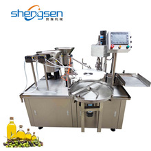 High Accurate Automatic Olive Oil Filling And Capping Machine