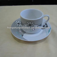 disposable cup / porcelain tea coffee set