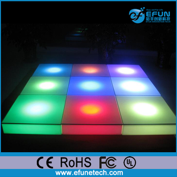 Eco Friendly Pe Rechargeable Interactive Led Flooring