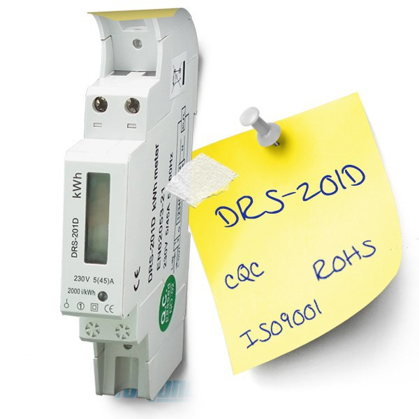 Hot Selling Single Phase DIN Rail Digital Energy Meter