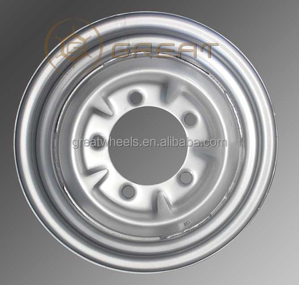 Black And Silver Color 16x6.5 Light Truck Wheels,Good Quality Car ...