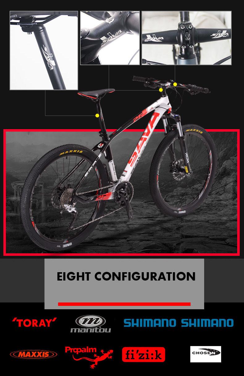 Sava Neueste Carbon Mountainbike 29 Zoll Carbon-rahmen Mtb 29er ...