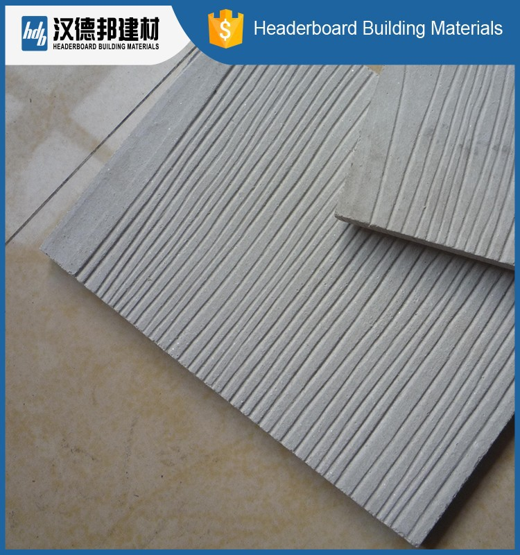 Factory Main Products Simple Design 6mm Fiber Cement Boards For Interior Garage Wall Finish Materials