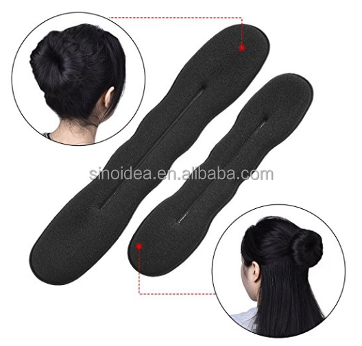 wholesale Fashion hair bun maker, beauty supply curler hair