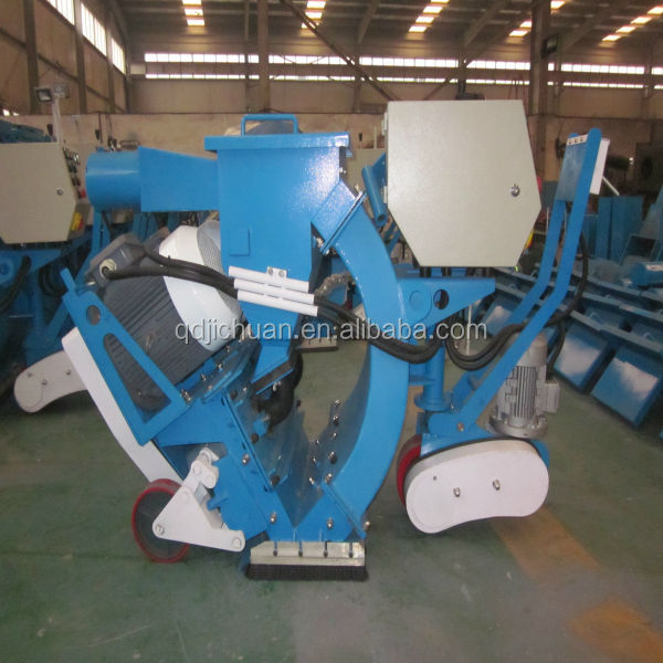 floor shot blasting machines used for road