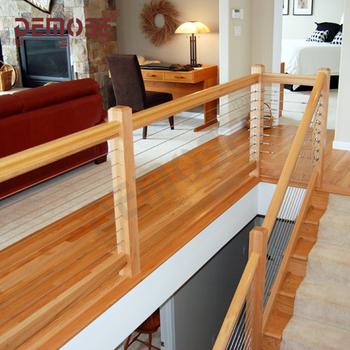 Rumah Pagar Desain Modern Tangga Kayu Pagar Untuk Balkon Buy