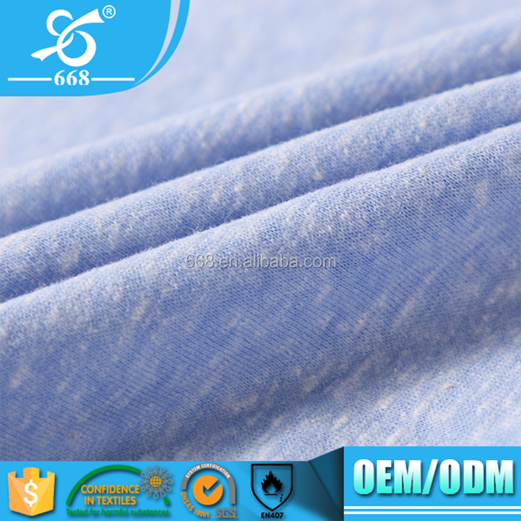 30S cotton weft knitted dyeing jersey fabric