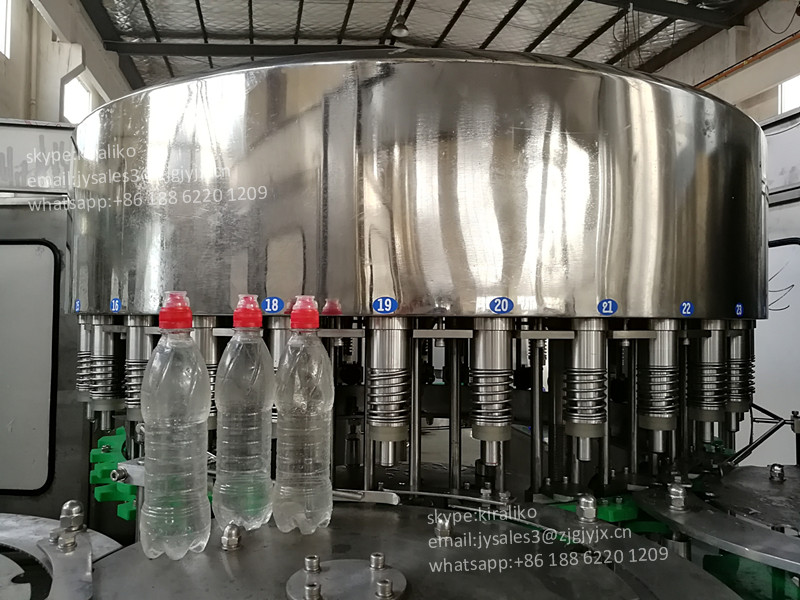 Automatic Mineral Water Bottle Making Rinsing Filling Capping Machine Price