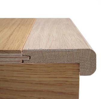 Unfinished Solid Oak Bullnose Profile For Wood Flooring Buy Oak
