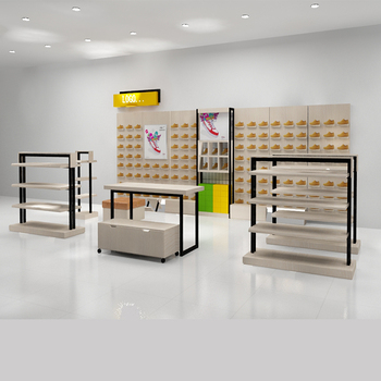 Modern Wall Mounted Shelves Shoe Display Rack For Shoes Kiosk Buy