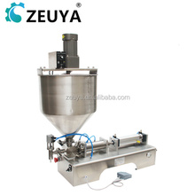 New Arrival Semi-Automatic paste filling machine with mixing hopper G1WT China Manufacturer