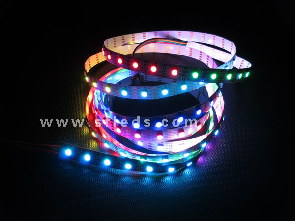 Wateproof Black Pcb 60pixel With 60led Apa 102 Led Rgb Led Strip ...